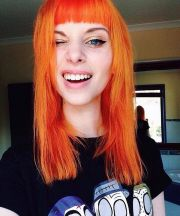 orange hair colors ideas