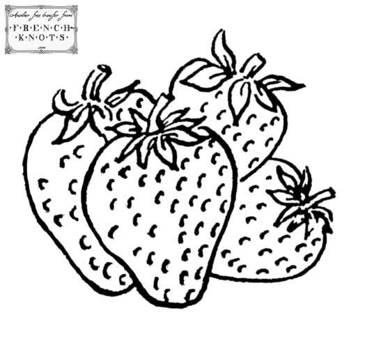17+ images about Fruit & vegetables embroidery patterns on
