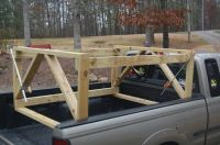 DIY  Truck Bed Kayak Rack - Tallapoosa Coosa | Projects ...