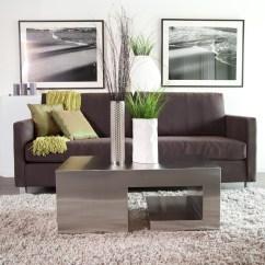 Living Rooms With Grey Sofas Room Design Ideas Black Leather Furniture Apartment Dark Brown Sofa, Cream Shag ...