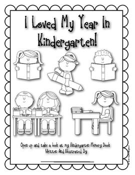 25+ best ideas about Kindergarten memory books on