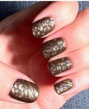 8 nail art embossed