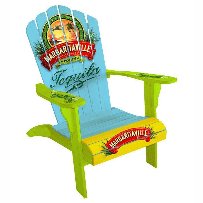 Margaritaville Vintage Tequila Classic Adirondack Chair