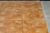 How to lay ceramic tile over plywood #housecalls ...