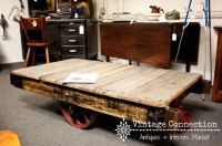 Warehouse Cart Coffee table. Restoration Hardware sells ...