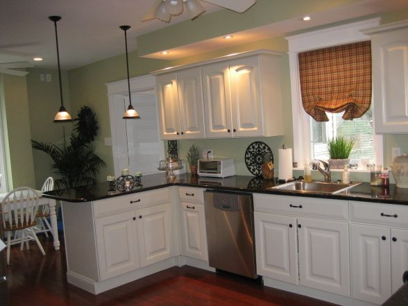 rustic kitchen island light fixtures china pack our kitchen, the countertops are dark green granite (it ...