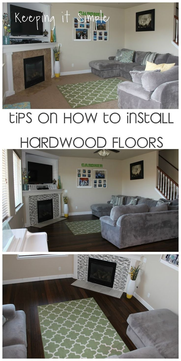Keeping it Simple Tips on How to Install Hardwood Flooring by Yourself Bamboo Strand