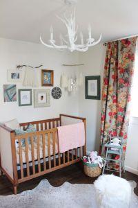 Boho & Floral Inspired Little Girl's Nursery | Baby girls ...