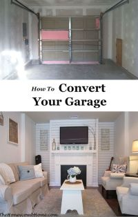 25+ best ideas about Converted Garage on Pinterest