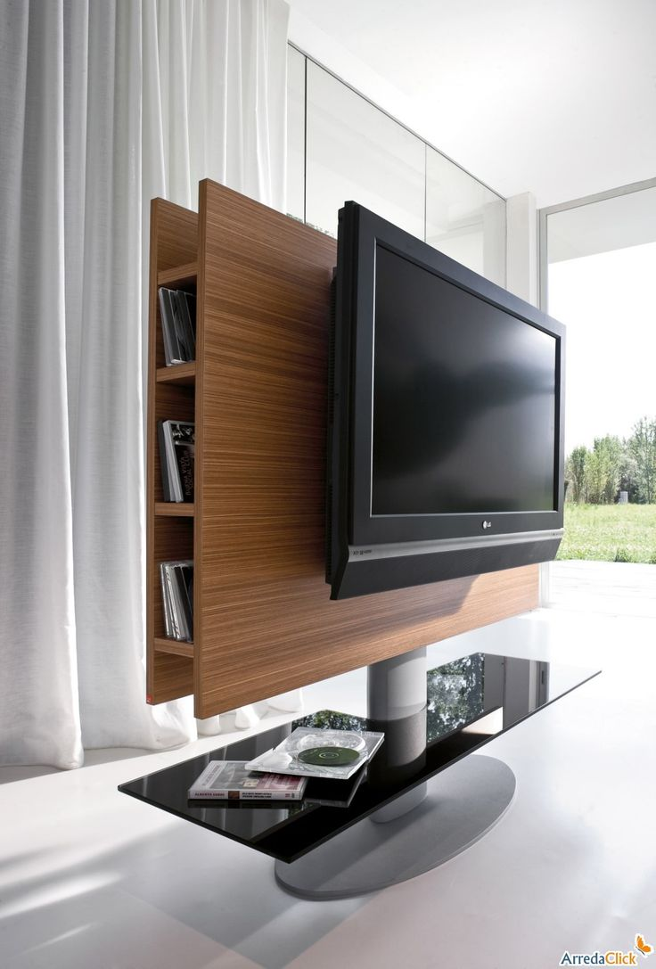 25 best ideas about Swivel tv stand on Pinterest  Studio apartment partition Studio apartment