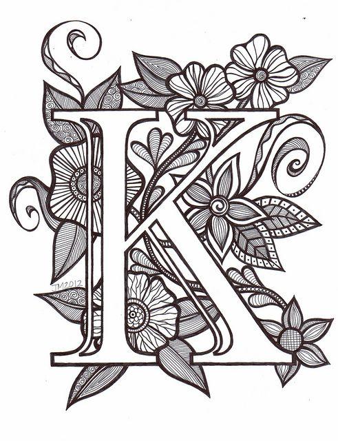 Best 25+ Letter k font ideas only on Pinterest