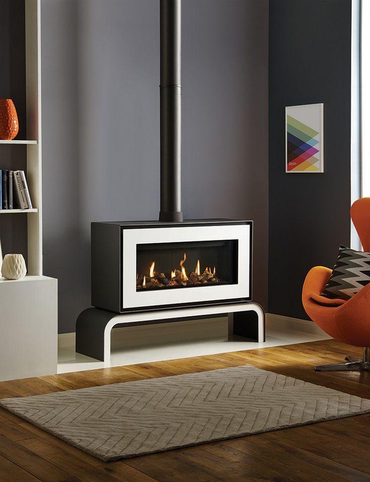 25 best ideas about Freestanding Fireplace on Pinterest  Freestanding stoves Modern