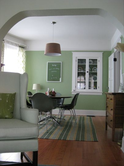 Green Liberty Park By Benjamin Moore This Is What I Meant For Our Kitchen To Look Likeoops