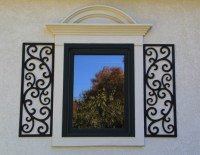 19 best images about Door & Window Decor Faux Wrought Iron ...