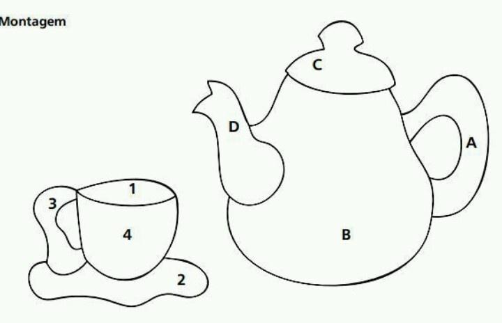 1000+ images about Teapot Quilt Patterns on Pinterest