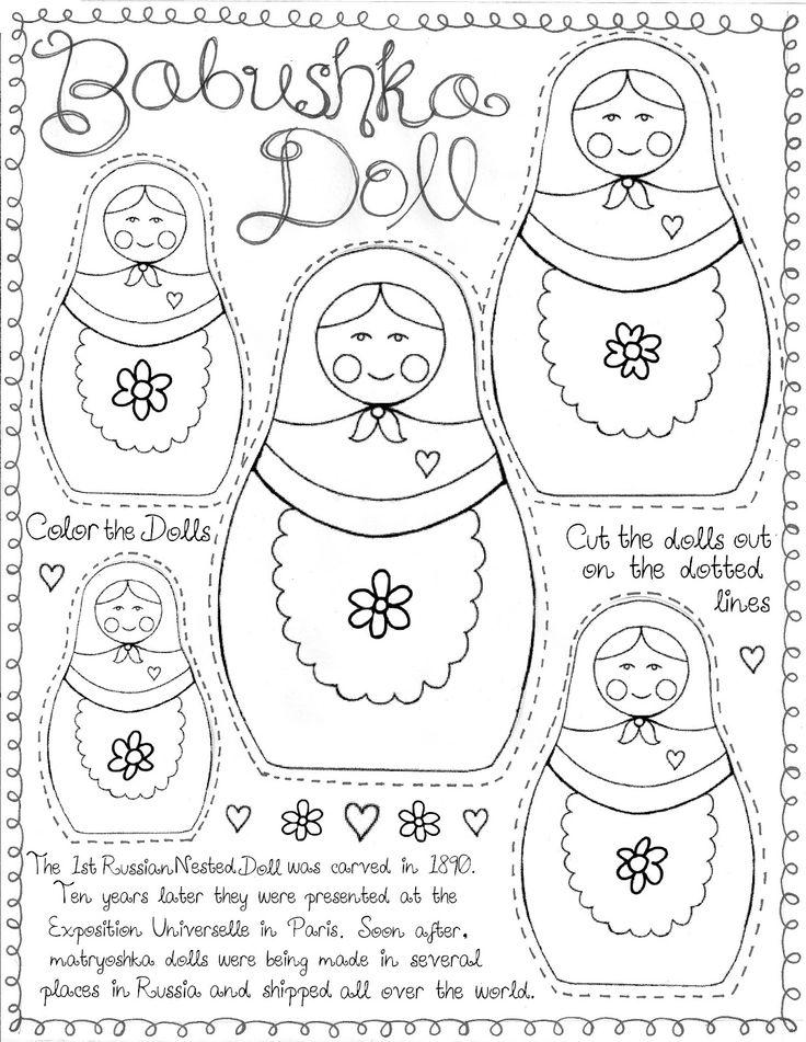 25+ best ideas about Matryoshka Doll on Pinterest
