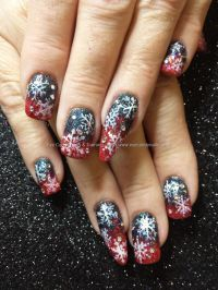 103 best Christmas nail ideas images on Pinterest