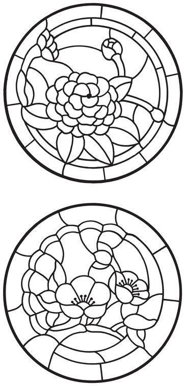 17 Best images about Stained Glass Flowers on Pinterest