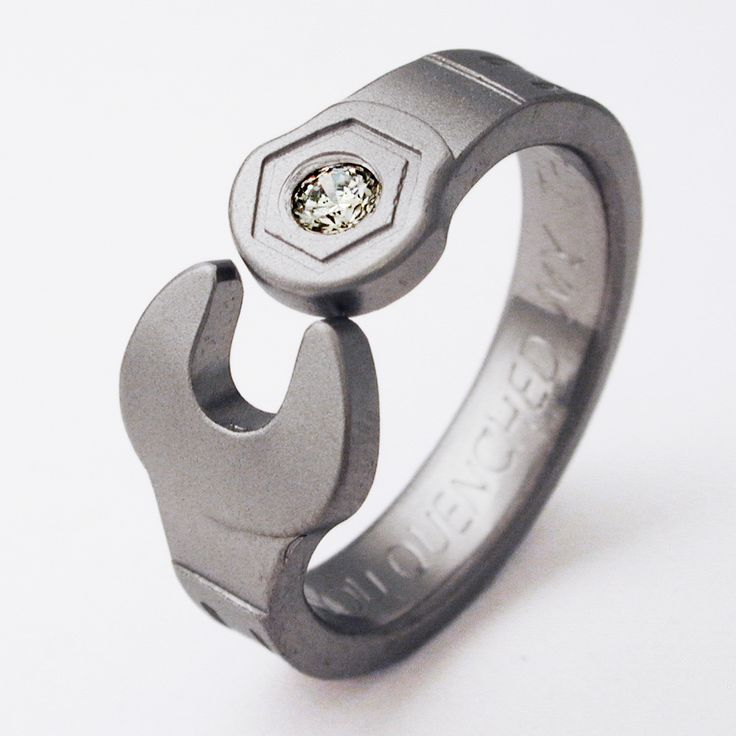 Titanium Wrench Ring Now These Would Make Cool Wedding