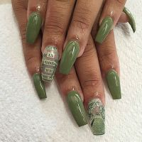 22 Best images about Money Nails on Pinterest   Nail art ...