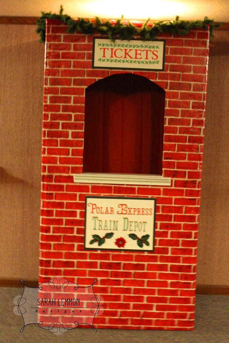 Polar Express9 Ward Christmas Party Pinterest