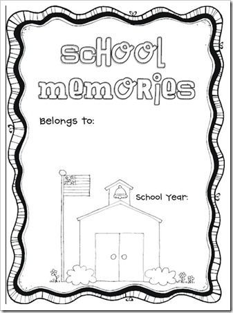 76 best Kindergarten Scrapbook Ideas images on Pinterest