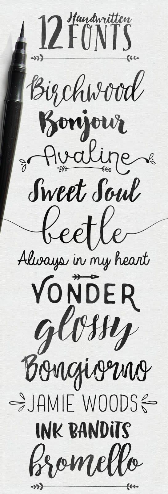 67 best images about Hand Lettered Alphabets on Pinterest