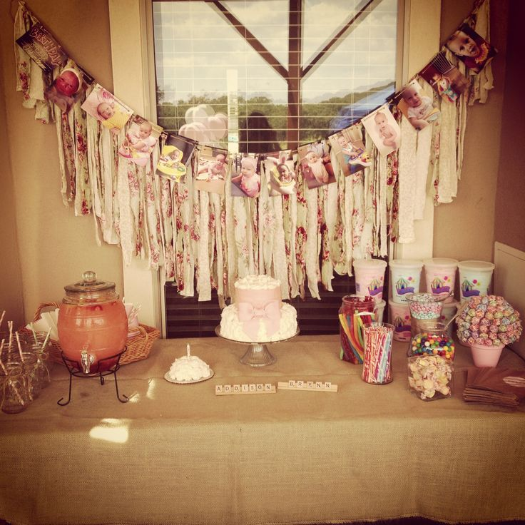 Shabby Chic Vintage Birthday Party Birthday Ideas