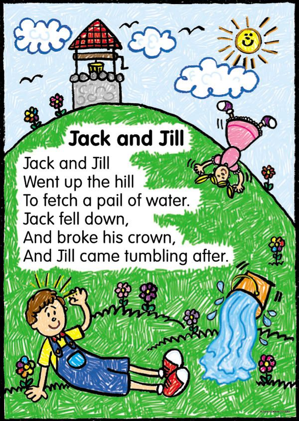 Nursery rhymes Jack and jill and Jack oconnell on Pinterest
