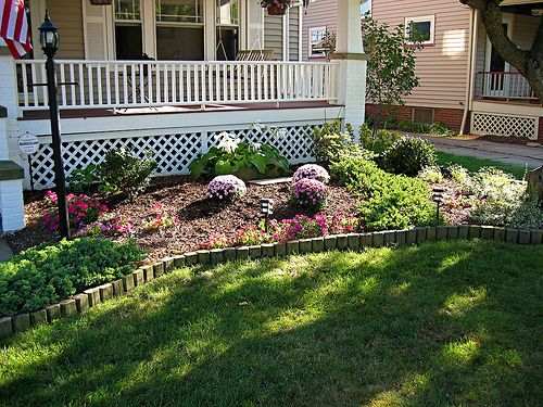 small front yard landscape design