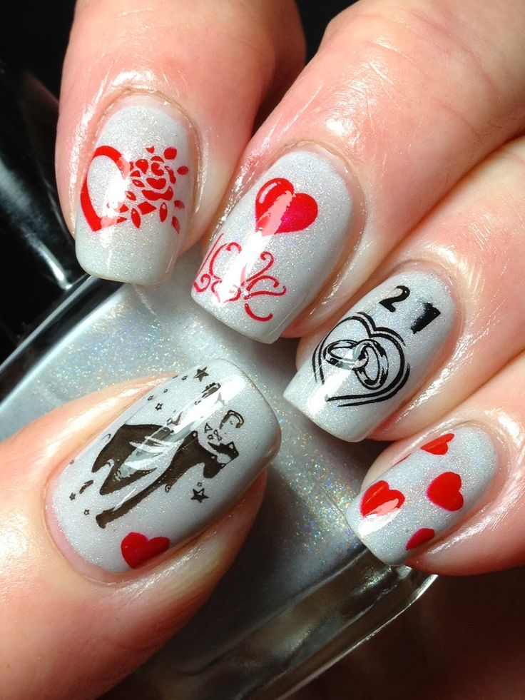nail design for wedding