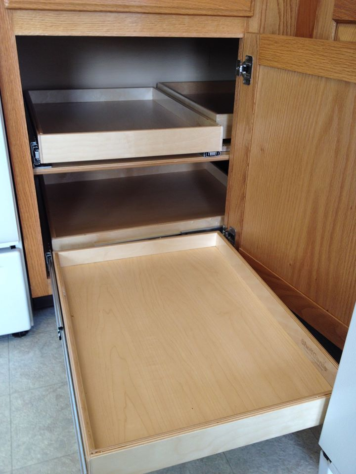 Blind Corner Cabinet Pull Out Shelves