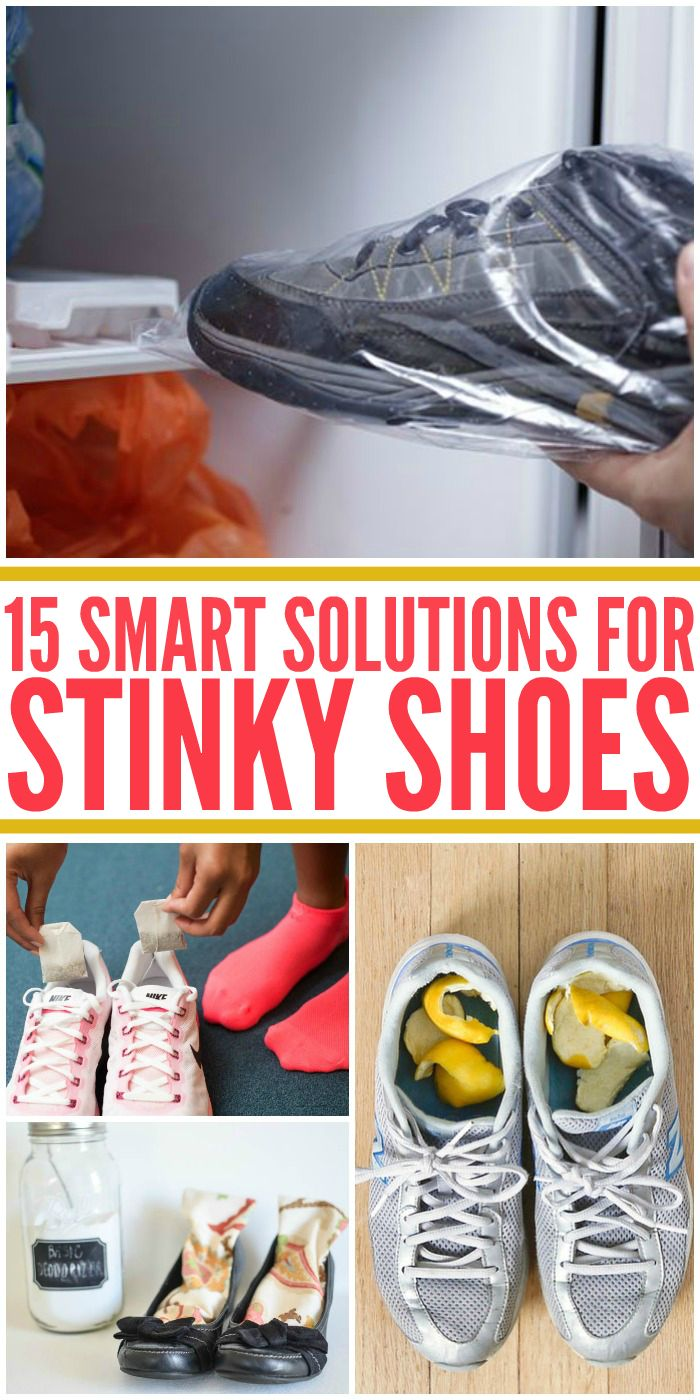 15 Smart Solutions For Stinky Shoes  Stinky Shoes