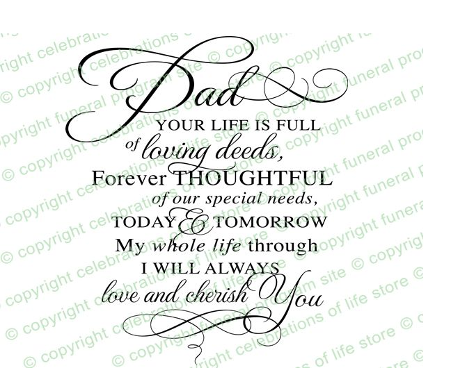 Inspirational Quotes : Dad Pre Designed Script Elegant