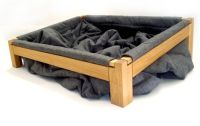 Dog bed so they can dig around in the blankets and get ...