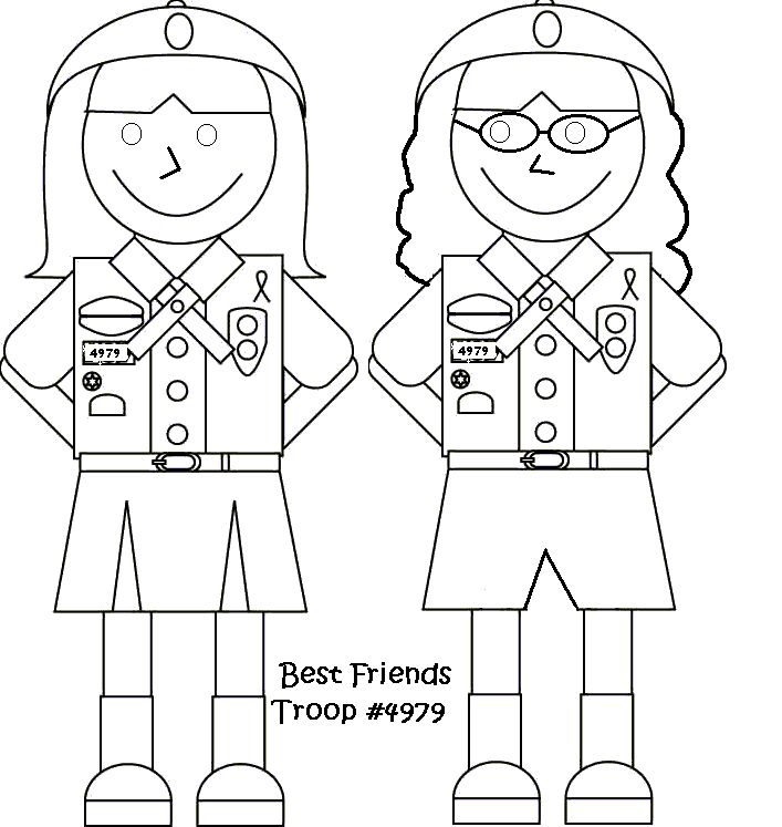 61 best images about Girl Guides Colouring in Pages and
