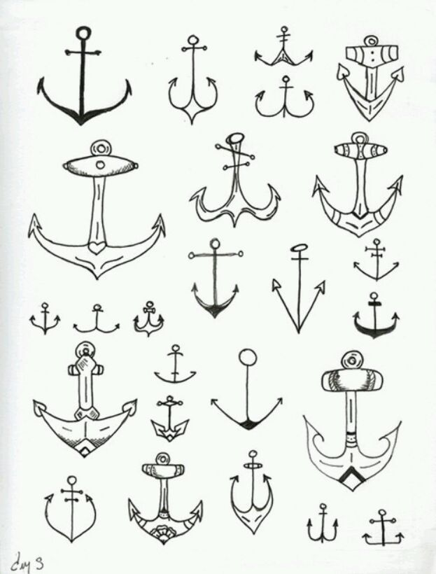 I Like These Simple Anchors