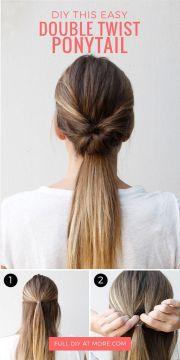 ideas easy work hairstyles
