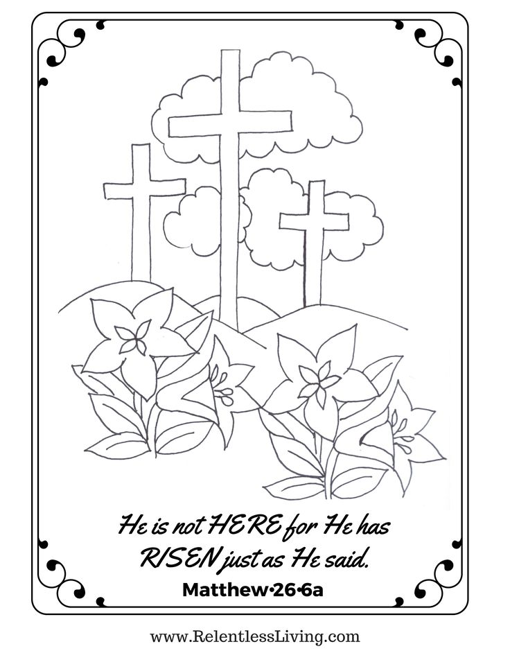 17 Best ideas about Easter Coloring Pages on Pinterest