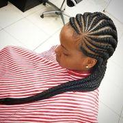 latest ghana weaving hair style
