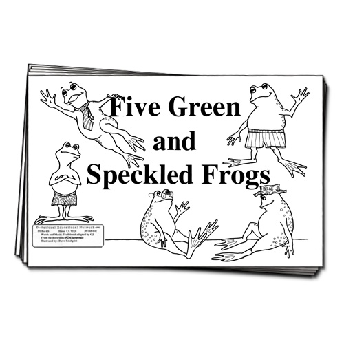 49 best images about Five speckled frogs on Pinterest