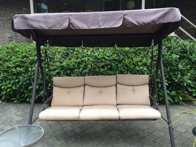 diy patio chair cushion covers outdoor rocking black friday fred meyer swing canopy replacement and cushions available | refurbish your swings ...