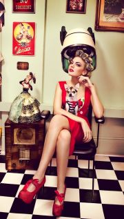 ideas vintage salon