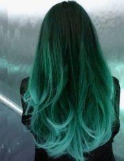hair chalk mint light