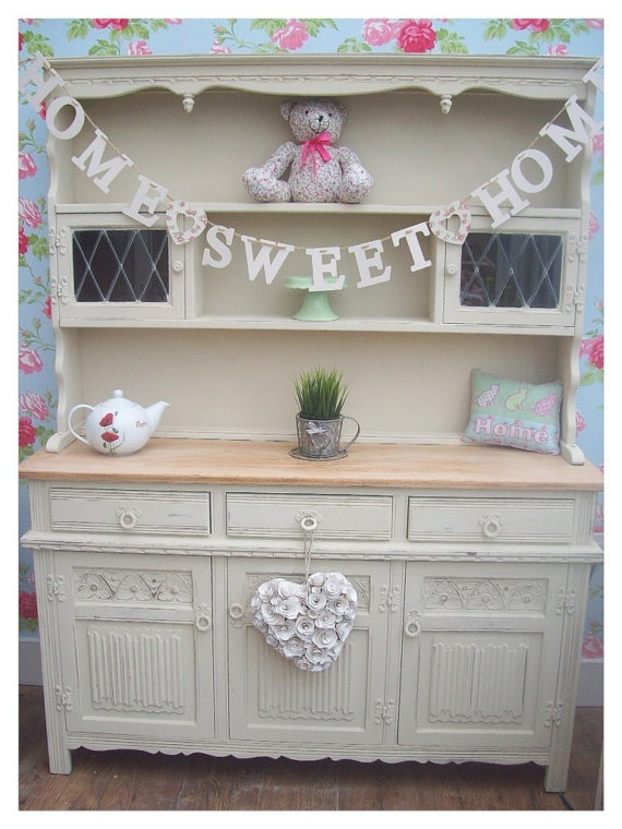 Shabby Chic Oak Welsh Dresser I LOVE THIS Would Love