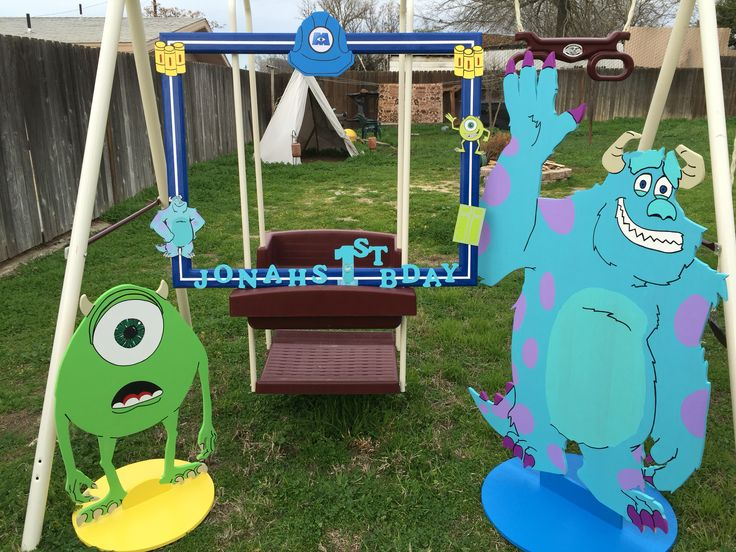 25+ best ideas about Monsters inc decorations on Pinterest