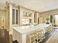 Long Kitchen Island | Kitchen | Pinterest | French, French ...