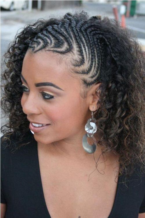 25 Best Ideas About Half Cornrows On Pinterest Cornrows Hair