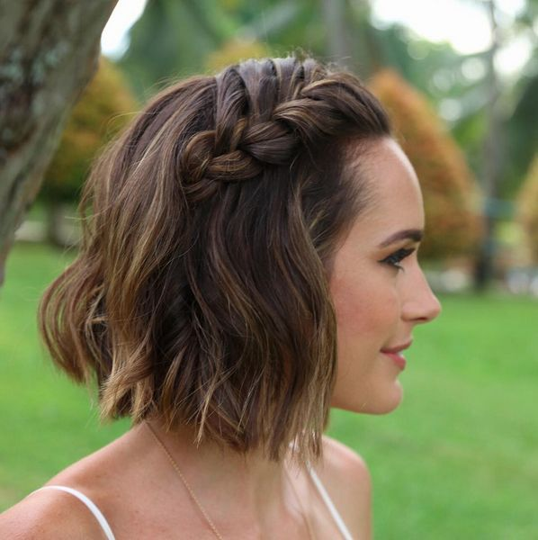 25 Best Ideas About Short Wedding Hairstyles On Pinterest