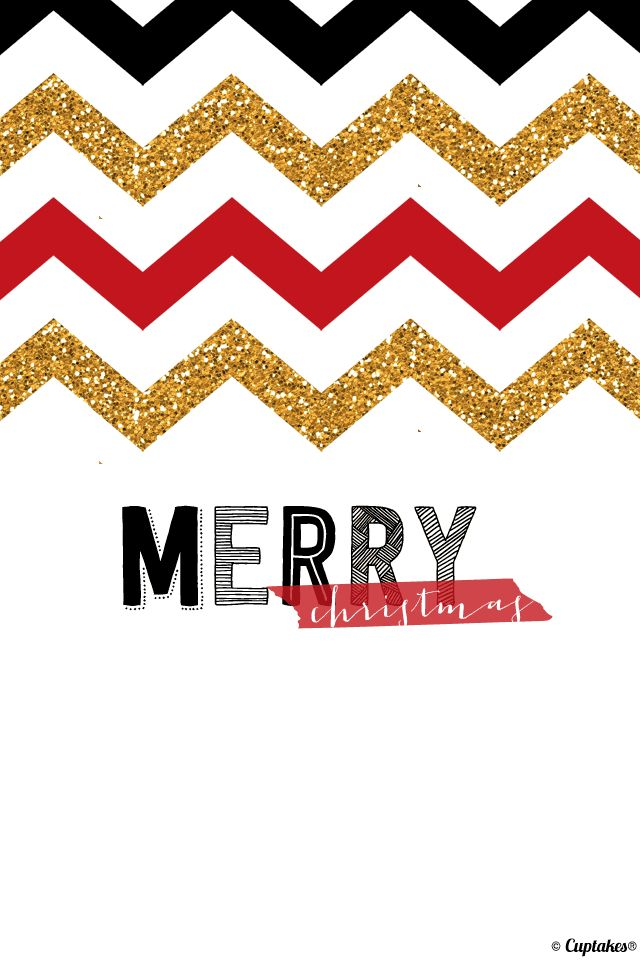 Fall Chevron Wallpaper Christmas Iphone Chevron Amp Glitter Wallpaper Phone